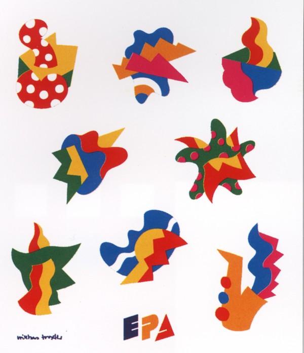 色块epa 平面设计 国际视觉设计平面设计-国际招贴画设计-国际招贴画