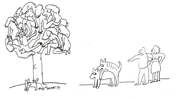树木 动物 国际视觉设计平面设计-国际招贴画设计-国际招贴画设计