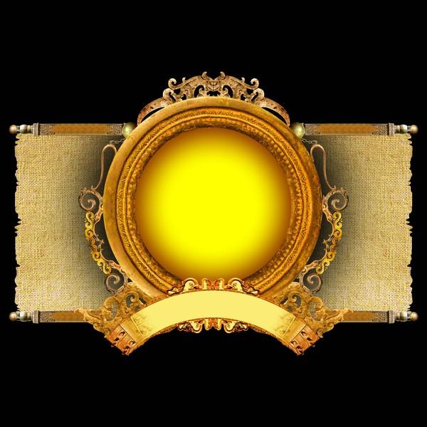古典边框图片-设计组件素材图