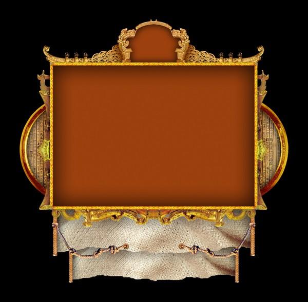 古典边框图片-设计组件素材图,设计组件素材,古典边框