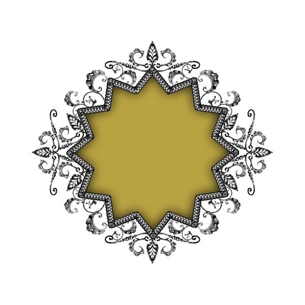 金属边框-设计组件素材-设计组件素材
