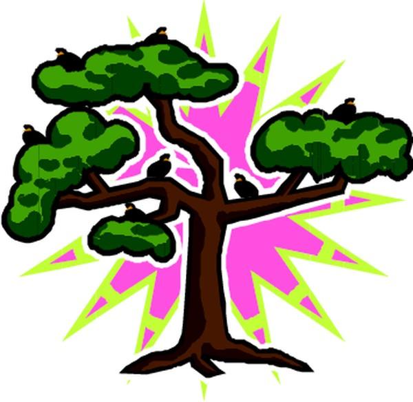 树木简笔画 步骤