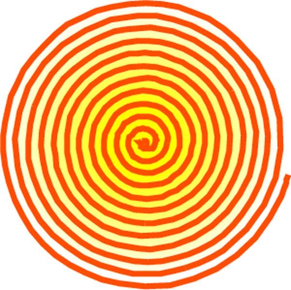 漩涡圆圈logo素材