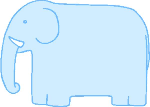 大象卡通图片_大象卡通图片大全图片