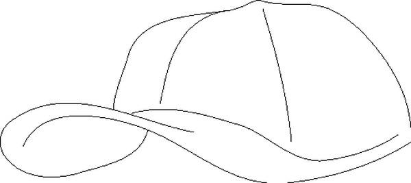儿童帽子手绘设计图
