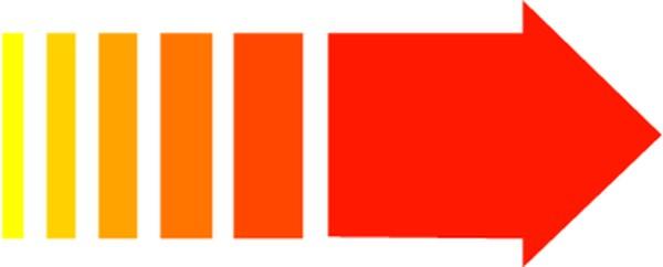 直线箭头-标识符号-标识符号,直线箭头