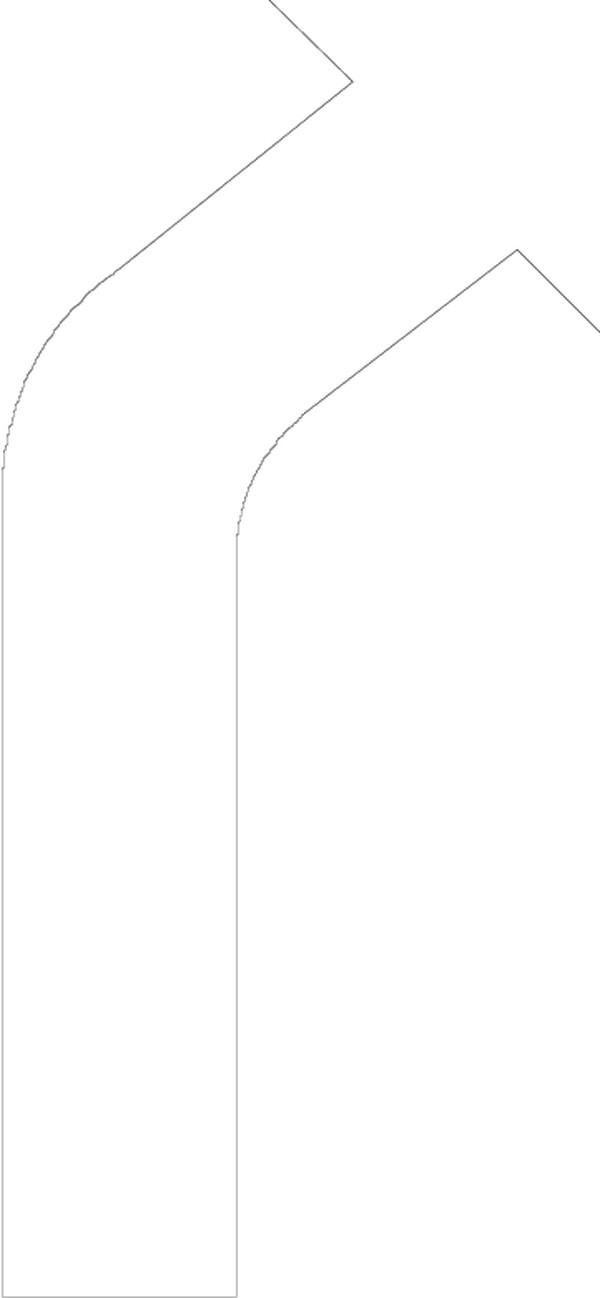 弧线双向箭头矢量图