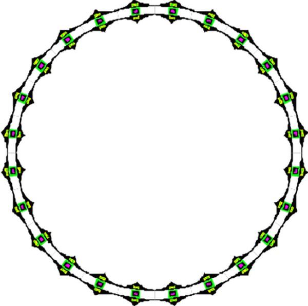 手链 圈圈-边框背景-边框背景,圈圈