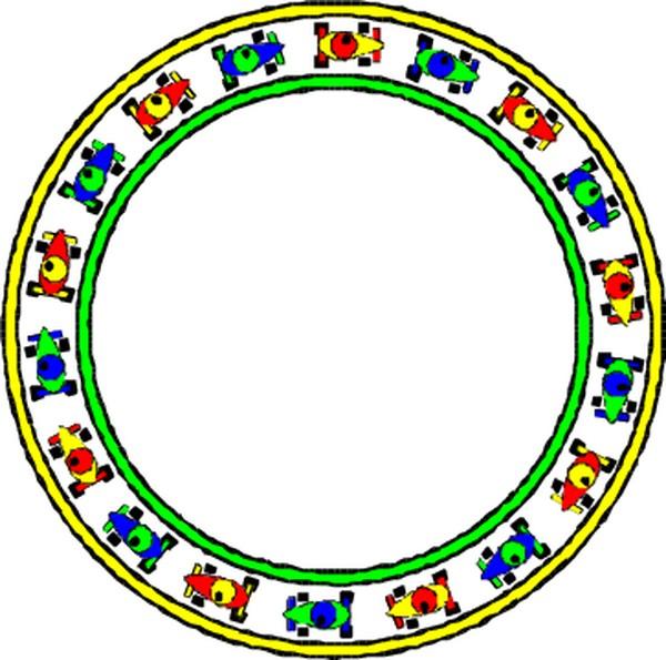 ppt素材立体圈圈