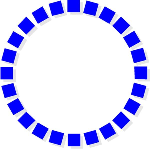 边框背景-圈圈