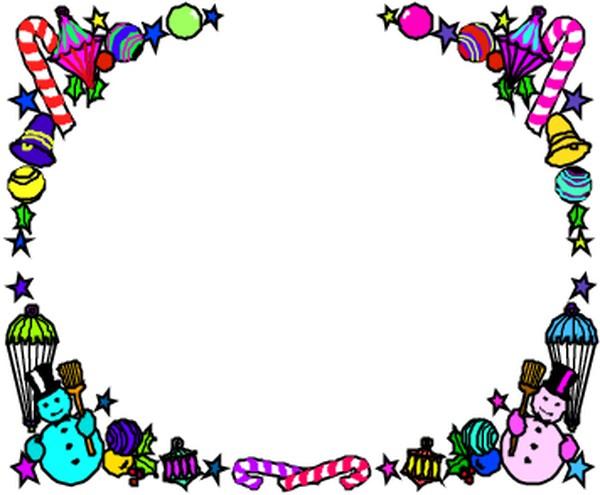 边框背景-季节装饰