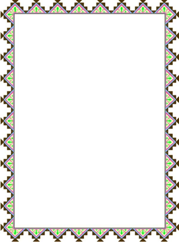 精致图框 形色边框-边框背景-边框背景