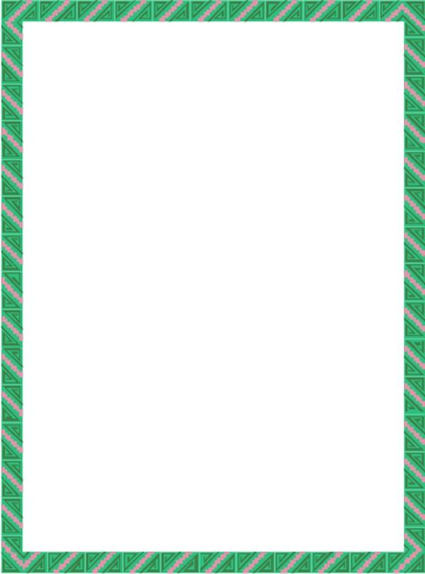 可爱a4纸竖排背景图