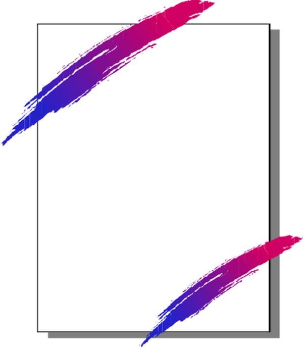 形色边框-边框背景-边框背景