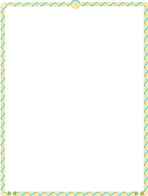 形色边框-边框背景,qq空间可爱边框