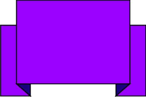 紫色标题框 条幅-边框背景-边框背景