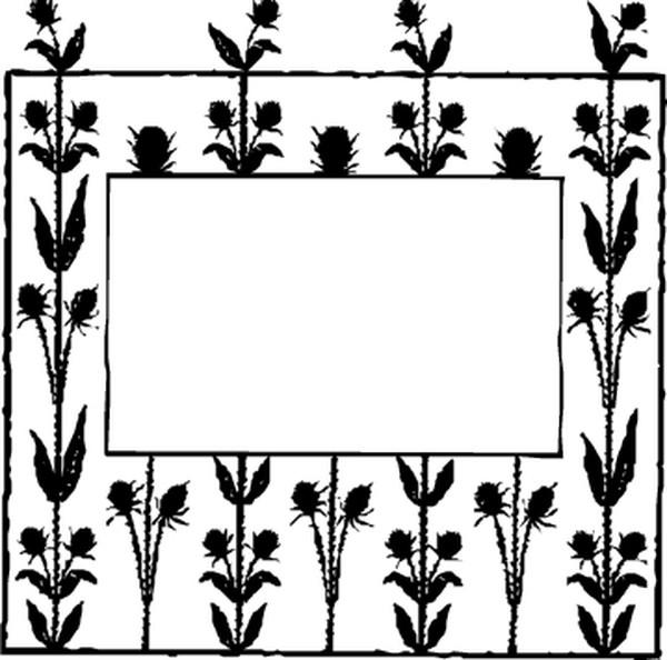 植物 装饰背景-边框背景-边框背景,装饰背景