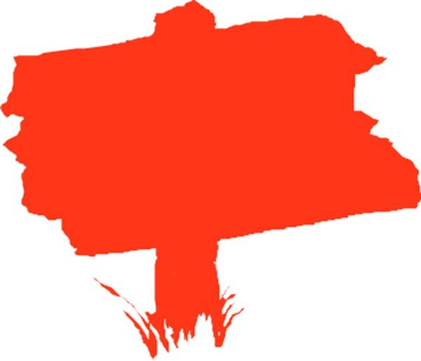 ps淘宝促销红框素材