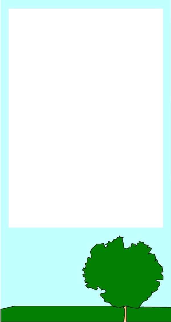 a4纸边框淡雅