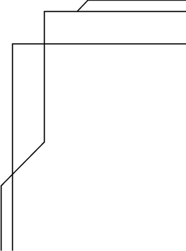 黑白色边框素材图片
