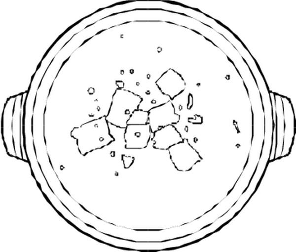 美食图案简笔画