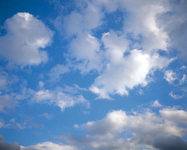 自然风景-蓝天白云