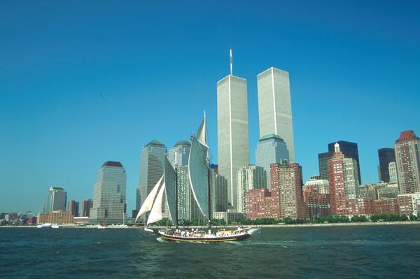大海 帆船 高楼耸立 美国风景-世界风光-世界风光,美国风景