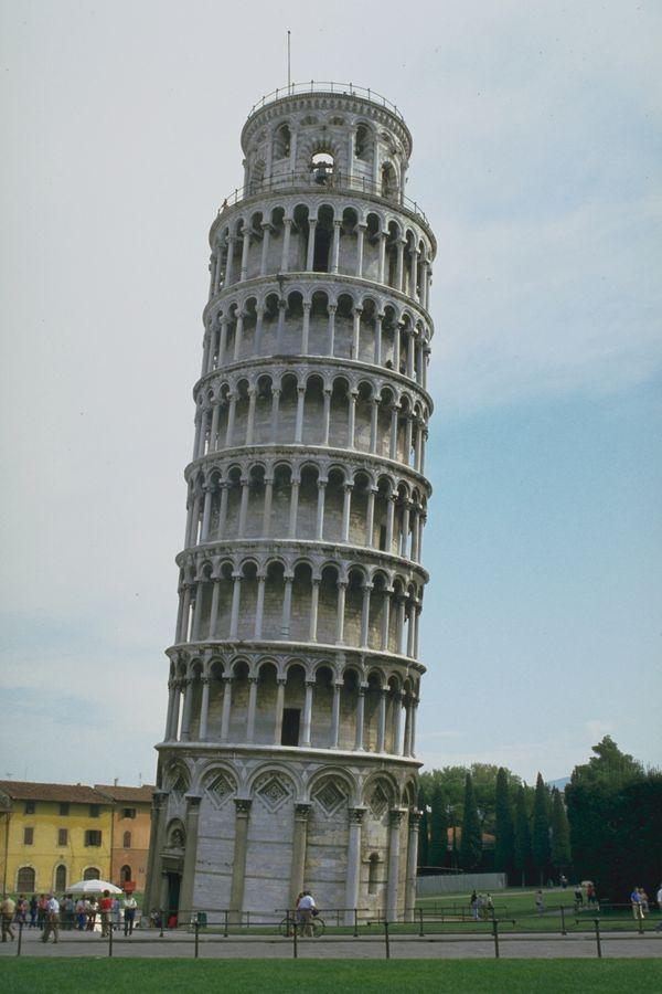 欧洲经典建筑图片-建筑图 意大利 比萨 斜塔,建