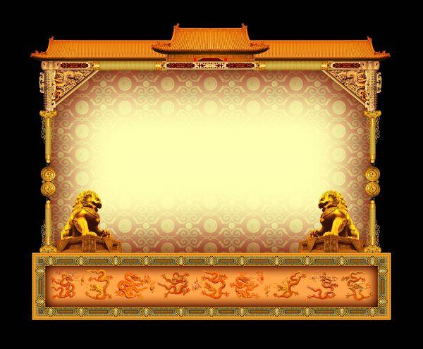 古建瑰宝-古典边框