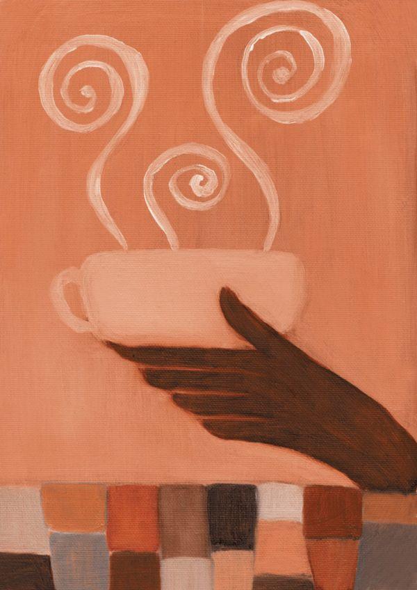 手捧杯子 咖啡赏味-生活-生活,咖啡赏味