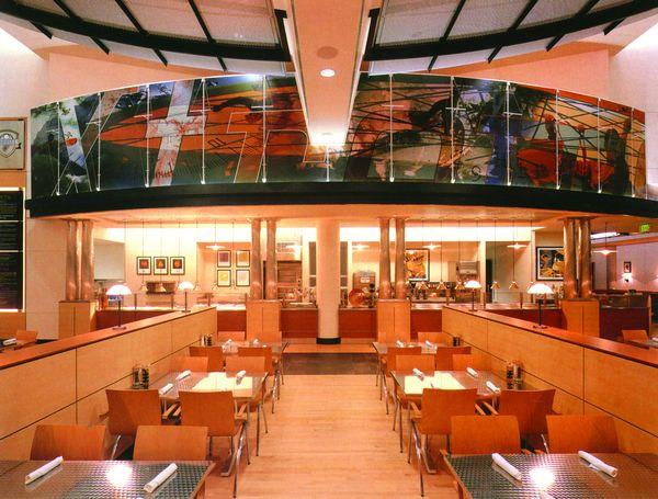 室内设计 豪华餐厅 反射玻璃