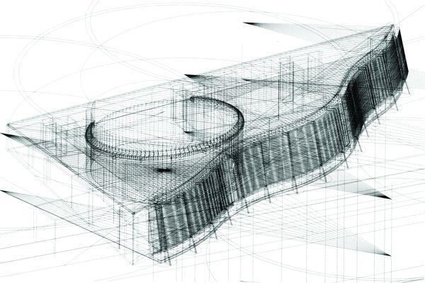 素描圆形步骤图片
