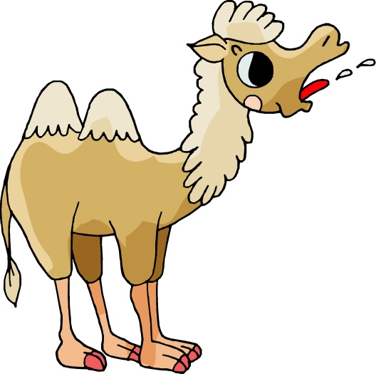 骆驼 驼峰 卡通形象-动物-动物