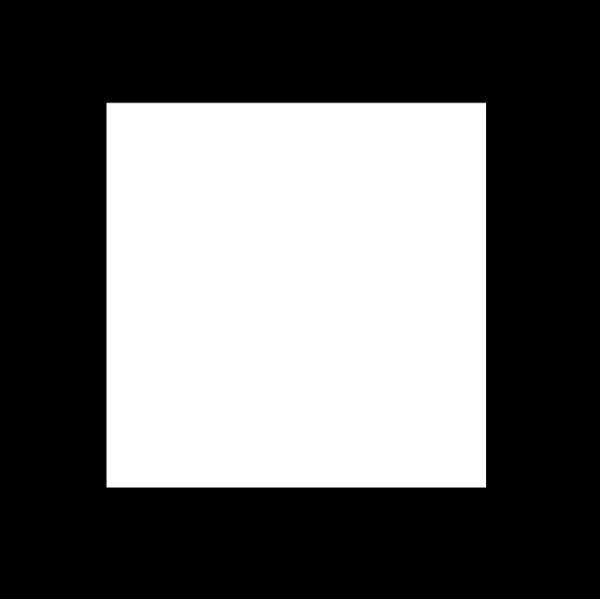 正方形 亚洲图案-标识图形-标识图形