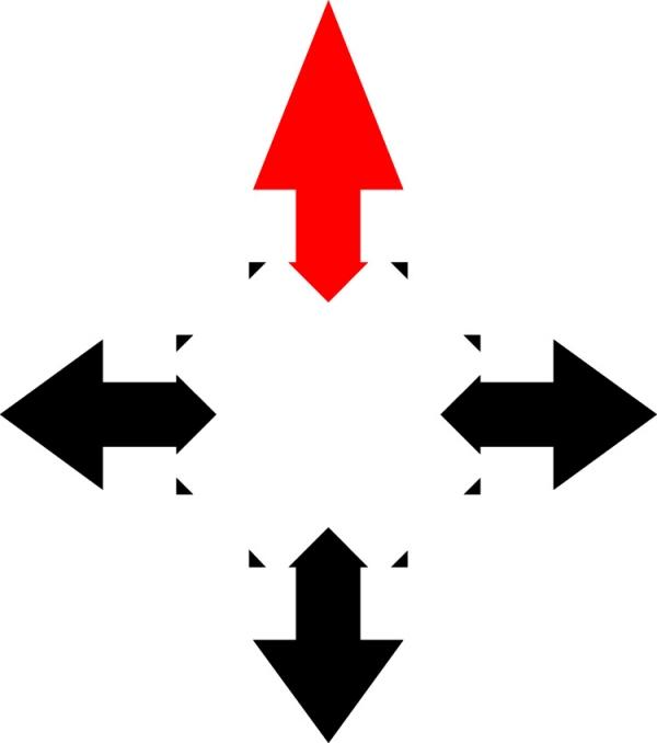 ps箭头自定义形状素材