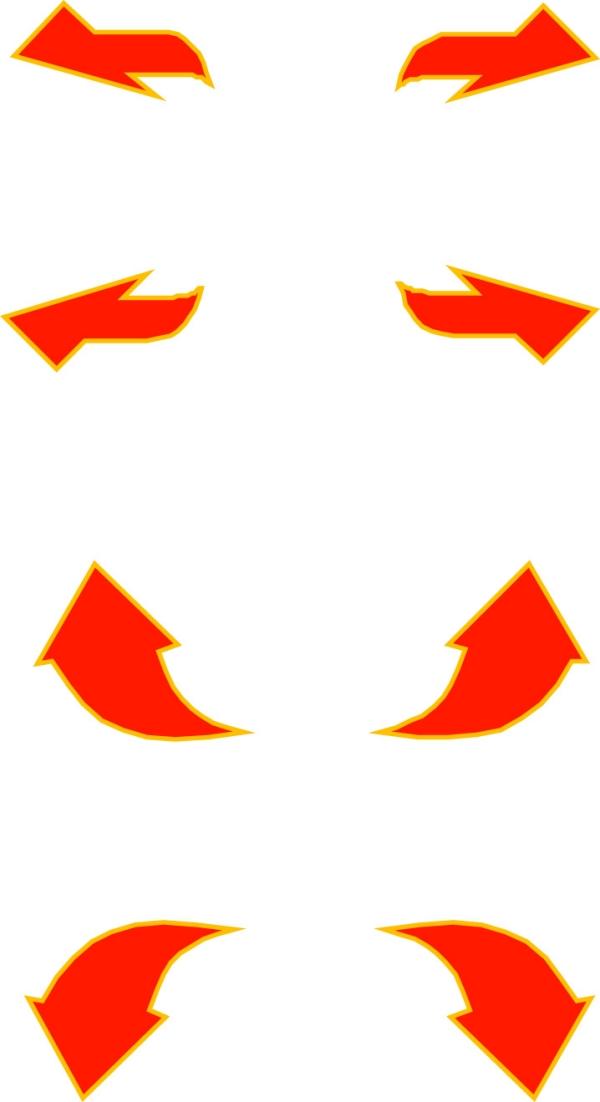 指示箭头-标识图形-标识图形,指示箭头,logo & graphs,firefighting