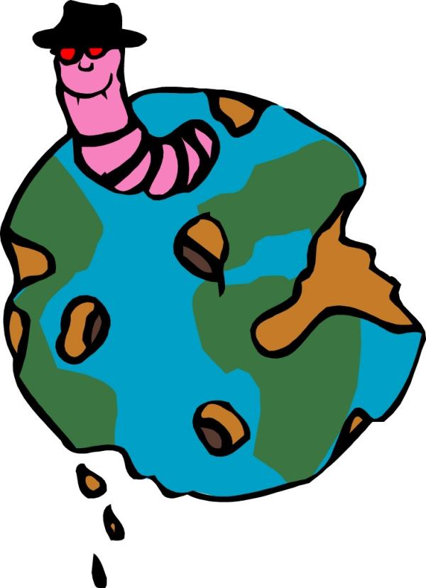 卡通画地球图片军事科学图; 地球; 干枯的地球卡通画