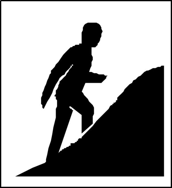 户外运动图片-运动图 爬山