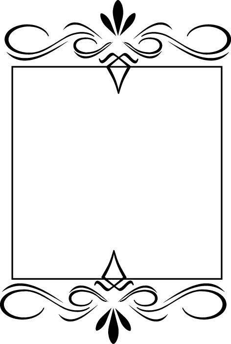 藏式花纹边框素材