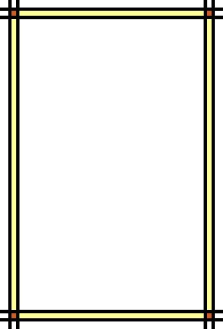 好看简单长方形边框