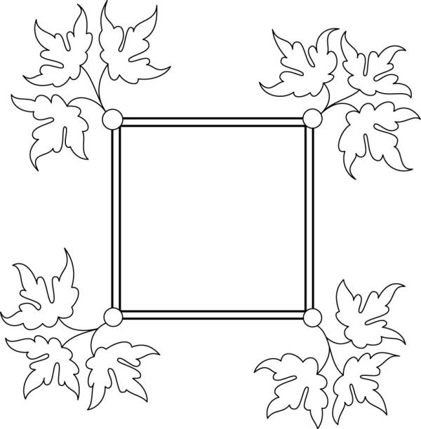 手绘简单又漂亮的边框