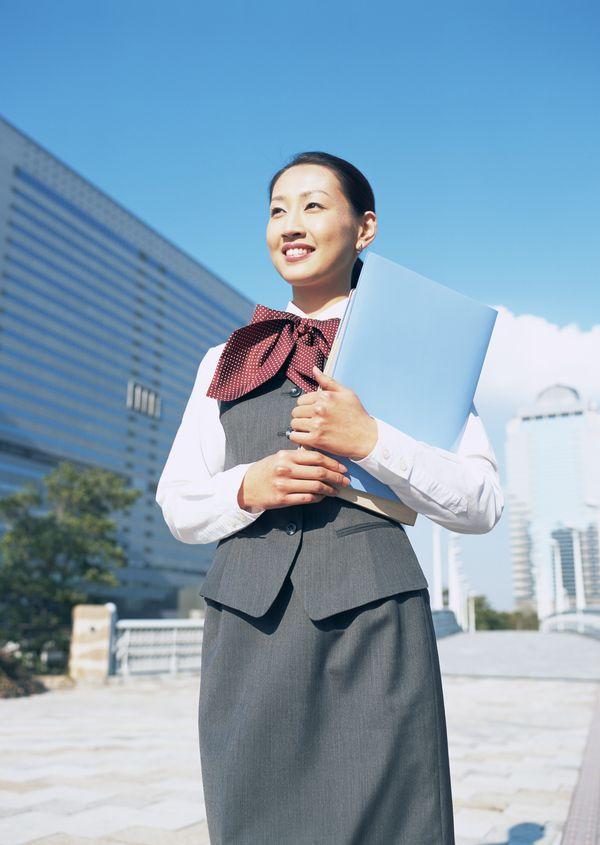 东方丽人图片 商业金融图 红领结 深灰色裙 手高清图片