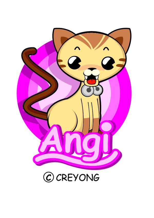 猫咪 铃铛 图片 动物插图-动物-饮食水果,动物插图