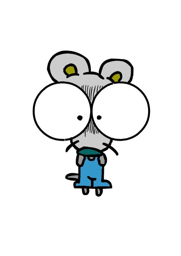 大眼睛 脸形 夸张 动物插图-动物-饮食水果,动物插图