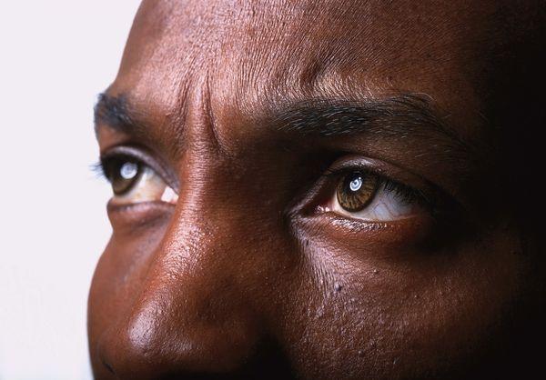 脸部表情图片-人物图 黑人眼睛