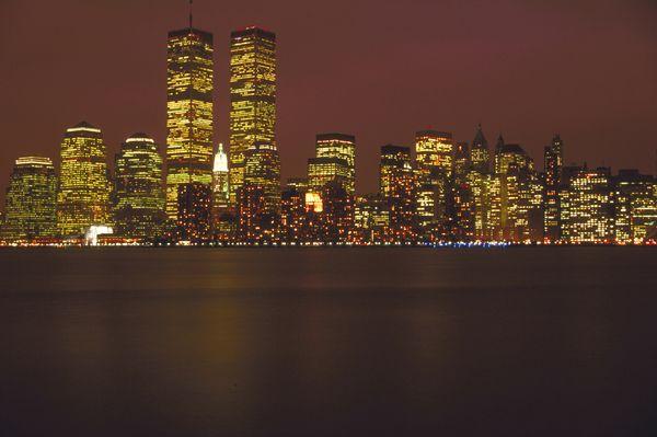 夜市 大楼 灯光 美国风景-旅游风光-旅游风光篇,美国风景