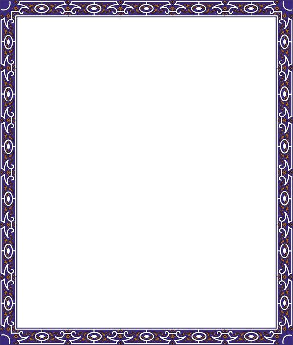 正方形 纹理 花饰 边框天地-底纹背景-底纹背景